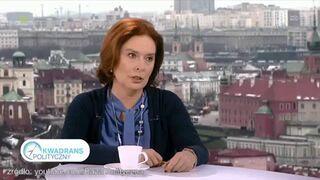 Dziennikarz TVP odleciał! Posłanka Kidawa-Błońska oburzona