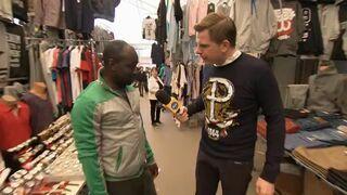 Filip Chajzer pyta o znak Polski Walczącej na bluzach
