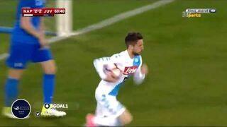Dries Mertens po 8 sekundach od wejścia na boisko strzela gola