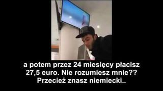 Imigrant w Niemczech chce kupić Iphone 6 za 1 euro