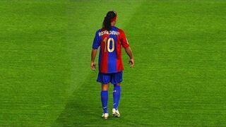 Ronaldinho - kompilacja najlepszych akcji