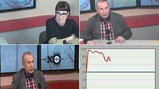 Temperamentny literat traci nerwy w studio radiowym, udzielając wywiadu na zywo.