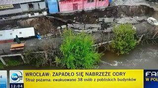 """""""Trzeba spuścić powietrze z odry"""" - Reporterka TVN24"""
