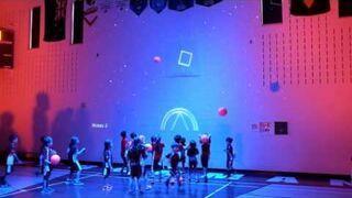 Rozszerzona rzeczywistość przekształciła sale gimnastyczną w interaktywny plac zabaw