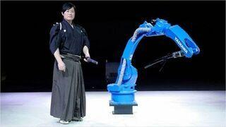 Mistrz katany vs Robot