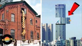 10 pomysłowych reklam na budynkach