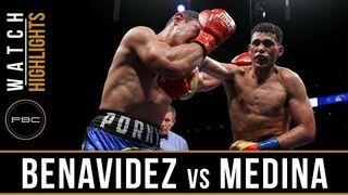 Wspaniała walka bokserska Benavidez vs Medina - May 20, 2017 - PBC on FS1