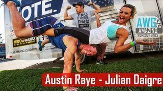 Austin i Julian - najfajniejsza ćwicząca para w sieci