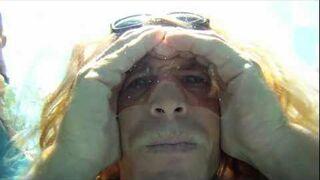 Powietrzne okulary, jak zobaczyć coś pod wodą bez okularów