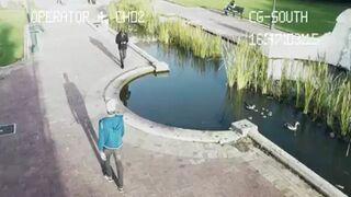 Zapatrzeni w smartfona - Kompilacja wypadków