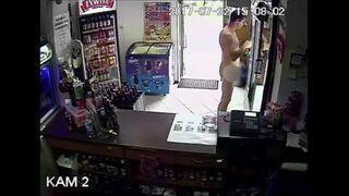 Wszedł nagi do sklepu i ukradł trzy piwa (Suwałki)