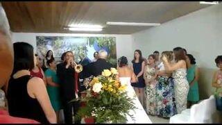 Trębacz popił przed weselem?