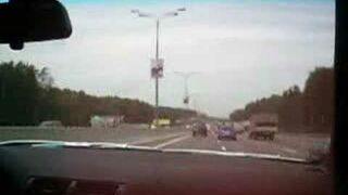 nielegalny wyścigi na autostradzie
