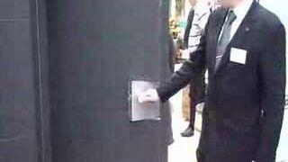Fajne drzwi z przekładnią klamkową