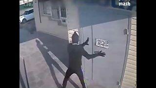 Profesjonalny napad na sklep w Wołgogradzie! Akcja rodem z filmu