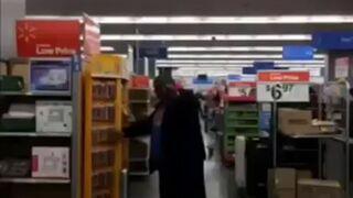 Scena jak z Titanica w supermarkecie