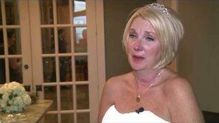 Niepełnosprawnym mężczyzną zrobił niespodziankę swojej przyszłej żonie na ślubie