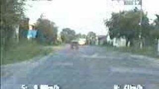 Fiat 126p Maluch kontra Policja