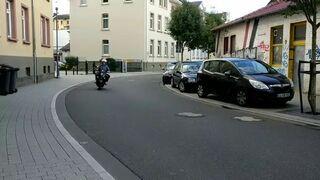Takie tam, na motocyklu