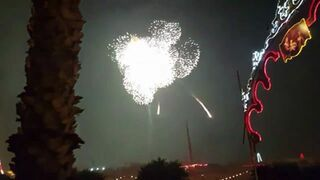 Wybuch największej pojedynczej fajerwerki