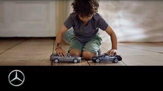 Dzieci i samochody którymi nie można się zderzać - Mercedes-Benz original
