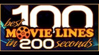 100 tekstów z najlepszych filmów w 200 sekund