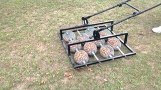 Maszyna do zbierania orzechów włoskich