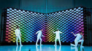 OK Go - Obsession | Teledysk z ekranem składającym się z 567 drukarek