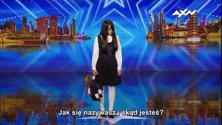 """Dziewczyna z horroru w azjatyckim """"Mam Talent"""""""