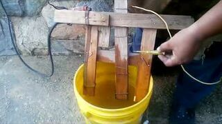 Spawarka elektryczna własne roboty - 10l wody i 2kg soli