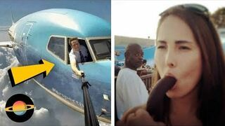 10 największych wpadek podczas robienia selfie #2
