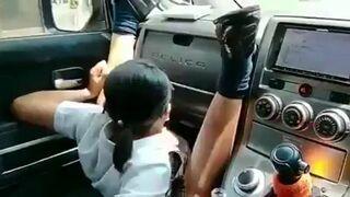 Kiedy koleżanka ostro zahamuje autem, a nie masz zapiętych pasów