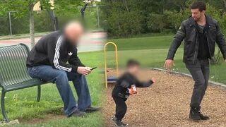 Porwanie dziecka na oczach rodzica (eksperyment społeczny)