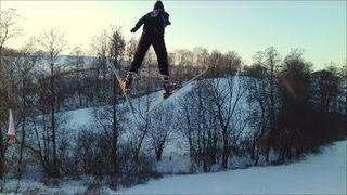 Amatorskie skoki narciarskie w Ropczyce