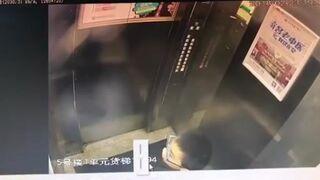 Nasikał na przyciski w windzie, która szybko się zemściła