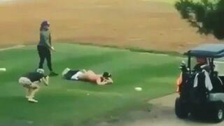 Kto powiedział, że golf jest nudnym sportem?