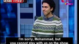 Egipt - ateista w studio telewizyjnym
