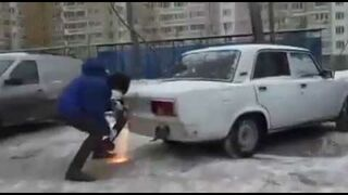 Kara za źle zaparkowany samochód. Rosja