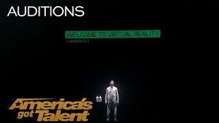 Musisz zobaczyć tę niesamowitą projekcję - America's Got Talent 2018