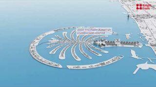 Jak zmienił się Dubaj od 1960 do 2021 roku - timelapse