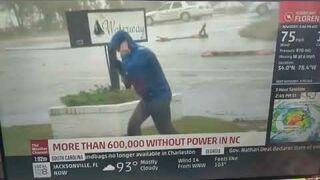 Mistrzowie drugiego planu podczas huraganu Florence