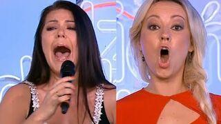 Iwony Węgrowskiej i Dominiki zaśpiewały z playbacku w Dzień Dobry TVN