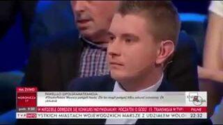 Smarkacz porównał Polaków do nazistów, starsza pani zwróciła mu uwagę
