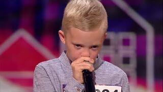 Ten chłopiec potrafił wydobyć niesamowite dźwięki za pomocą ust! [Mam Talent]