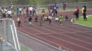 7-latek przebiegł 60 metrów w 8.69s i 100 metrów w 13.48s