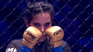 Fame mma 3- Marta Linkiewicz vs Godlewska