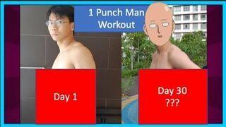 """Jak zmienić swoje ciało w 30 dni. Trening """"1 Punch Man"""""""