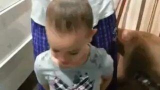 Jak tatuś zrobi fryzurę, to nie ma...
