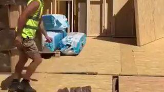 Akrobatyka na budowie