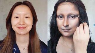 Makijaż jak Mona Lisa